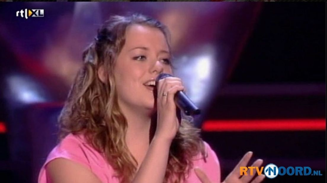 Jody Berghuis in The Voice of Holland