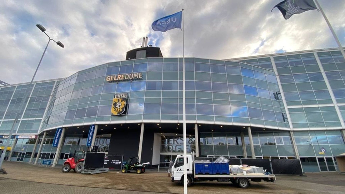 GelreDome quickly renamed boxing arena after football party