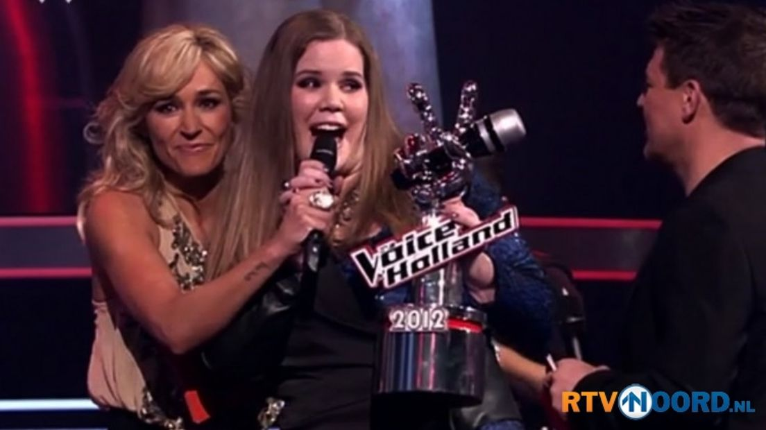 Iris Kroes wint The Voice of Holland