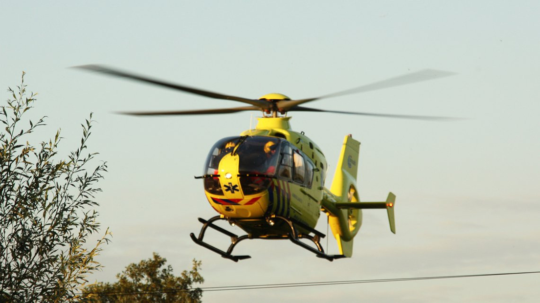 Traumahelikopter stock