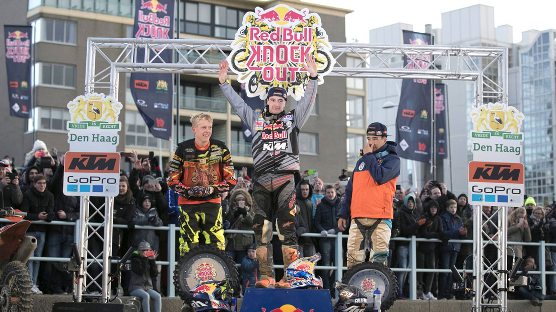 Podium Red Bull Knock Out 2016