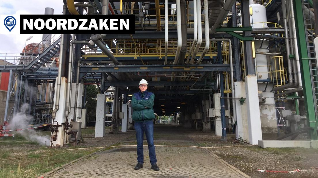 Chief Operations Officer Paul Compagne voor BioMCN in Delfzijl
