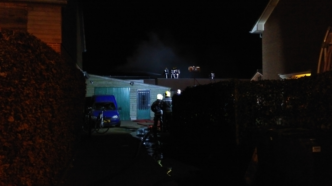 Grote brand in Wilp