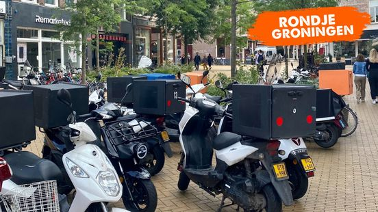 Rondje Groningen: Scooters, overal scooters